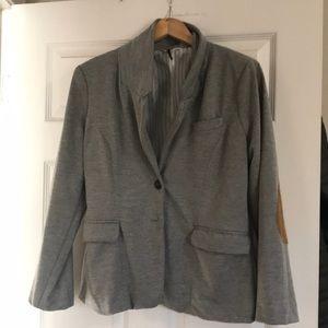 Check & Stripe Grey Blazer sz Large